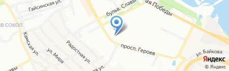Иванка на карте Днепропетровска