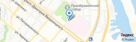 Аптека оптовых цен на карте Днепропетровска