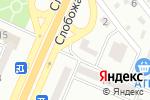Схема проезда до компании CRAFT в Днепре
