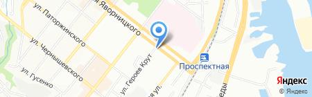 PANDA INTERIOR GROUP на карте Днепропетровска