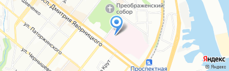 Ремонт обуви на карте Днепропетровска