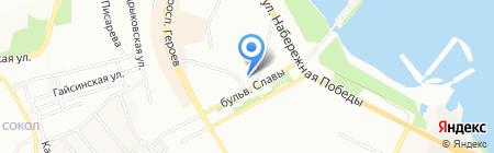 Политехмаш на карте Днепропетровска