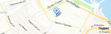 Аптека низьких цін на карте Днепропетровска