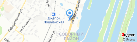 Zooland.dp.ua на карте Днепропетровска