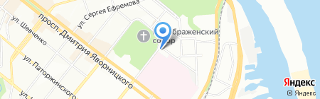 Дары Востока на карте Днепропетровска