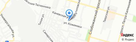 Загальноосвітня санаторна школа-інтернат №3 на карте Днепропетровска