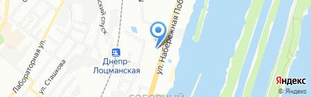 Ремонт одежды на карте Днепропетровска
