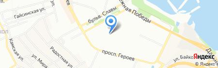 КОКЕТКА на карте Днепропетровска