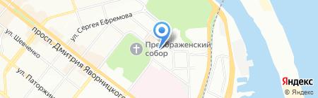 ДнепрСервисСтрой на карте Днепропетровска
