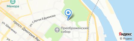 Чарли на карте Днепропетровска