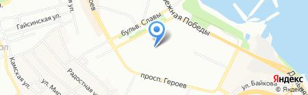 Яшма ПТ на карте Днепропетровска