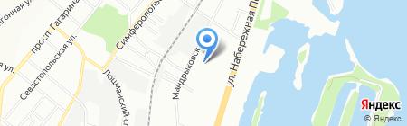 Бир Трейдер на карте Днепропетровска