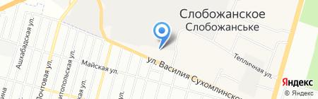 Контраст Инжиниринг на карте Днепропетровска