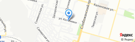 Терминал самообслуживания Ощадбанк на карте Днепропетровска