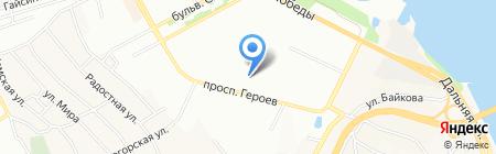 8 Небо на карте Днепропетровска