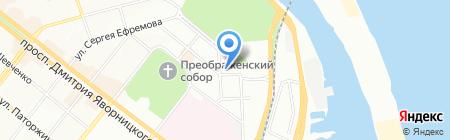 Зірочка на карте Днепропетровска