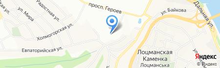 Мал на карте Днепропетровска