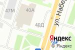 Схема проезда до компании Миг в Днепре