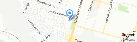 Hogwarts на карте Днепропетровска
