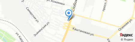 Мередиан Мебели на карте Днепропетровска