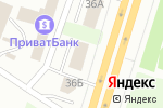 Схема проезда до компании Ибис в Днепре