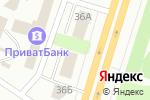 Схема проезда до компании Esperanto Drive в Днепре