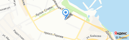 Середня загальноосвітня школа №35 на карте Днепропетровска