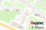 Схема проезда до компании Красотка в Днепре