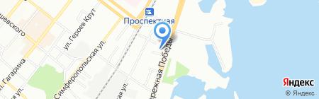 Coworking 365 на карте Днепропетровска