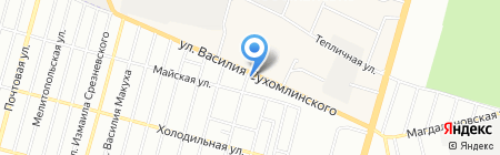 ЗООТОВАРЫ на карте Днепропетровска