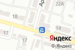 Схема проезда до компании zaDARma в Днепре