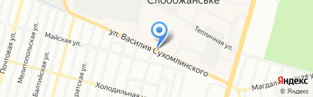 Цветочный MIX на карте Днепропетровска