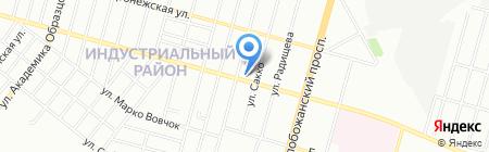 Эдбург на карте Днепропетровска