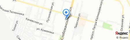 МИР ОКОН на карте Днепропетровска