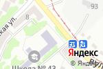 Схема проезда до компании Середня загальноосвітня школа №43 в Днепре