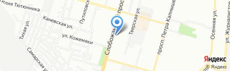 Wintera на карте Днепропетровска