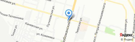 Sofiti на карте Днепропетровска
