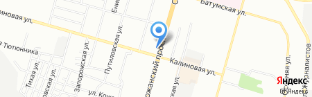 Опять Пять на карте Днепропетровска
