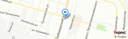 Ремонт мобильных телефонов на карте Днепропетровска