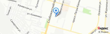 Ассоль на карте Днепропетровска