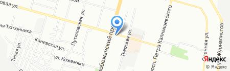 Не Болей на карте Днепропетровска