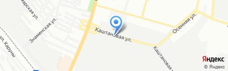 Эстафета на карте Днепропетровска