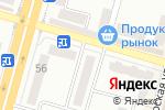 Схема проезда до компании Адвокат Цивань Н.В. в Днепре