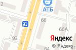 Схема проезда до компании АКБ НОВЫЙ, ПАО в Днепре