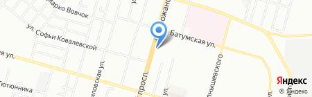 Mix на карте Днепропетровска
