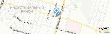 ТЕПЛОЛЕНД на карте Днепропетровска