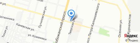 Все от 5 на карте Днепропетровска