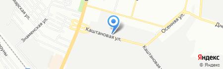 Аксиома на карте Днепропетровска
