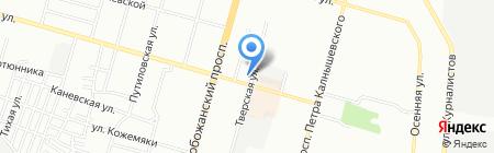 Для тебя на карте Днепропетровска