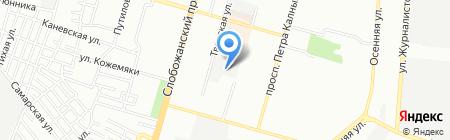 Альфаспо ЧП на карте Днепропетровска